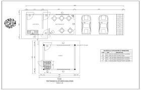 car service center floor plan e plus construction