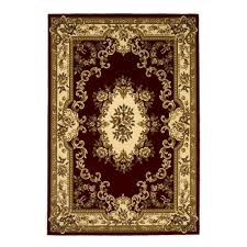 7 x 7 area rugs kas rugs hudson classic ivory red 7 ft 7 in x 10 ft 10 in area