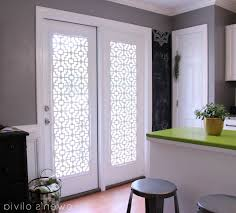 exciting french door window dressing contemporary best