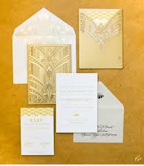 download art deco wedding invitations wedding corners