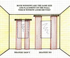 How To Hang Drapes Designer Trick How To Hang Drapery Panels For Maximum Impact