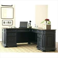 Office Depot L Shaped Desk Black L Shaped Desk With Drawers Office Depot U Hutch Interque Co