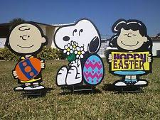 Lawn Easter Egg Decorations by Outdoor Easter Decorations Ebay
