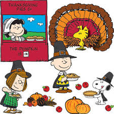 a brown thanksgiving bulletin board set snoopy