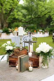 wedding reception centerpieces with candles google search