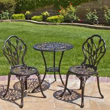 Black Rod Iron Patio Furniture Woodard Pomegranite Octagon Table And Retro Dining Room Minimalist
