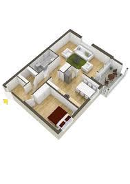 simple one bedroom house plans sq ft in kerala apartment floor