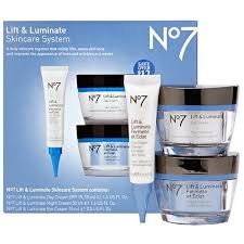 buy boots no 7 buy boots no7 lift and luminate 3 skincare best