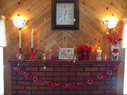charming minimalist valentine mantel decoration with creative