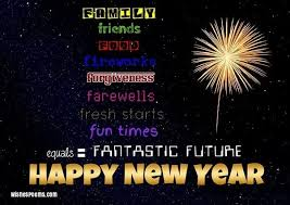 what is the best happy new year message you read updated