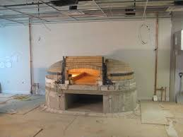home decor commercial brick pizza oven galley kitchen design