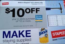 staples black friday coupon staples 10 off of 10 coupon u003d free items