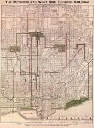 Map Chicago by Chicago In Maps