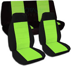 custom jeep seats two tone car seat covers full set semi custom black u0026 red