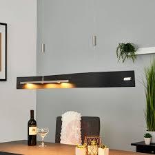 Esszimmerlampen Modern Led Edle Led Holz Pendelleuchte Talu Höhenverstellbar Lampenwelt At