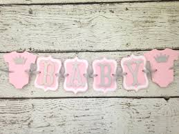 pink and silver baby shower princess crown baby shower banner in pink and silver princess