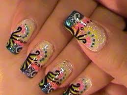 pink acrylic gel nail art acrylic nail art designs 9 acrylic
