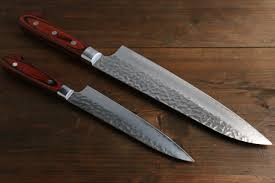 japanese kitchen knives sakai takayuki 33 layer gyuto 240mm and petty 150mm japanese
