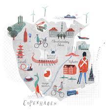 map of copenhagen copenhagen map lucybanaji com