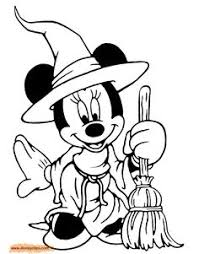 free disney halloween coloring sheets disney halloween minnie
