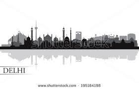 free vector delhi skyline silhouette download free vector art