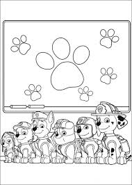 paw patrol coloring pages zuma sledge coloringstar