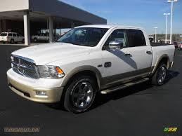 Dodge Ram White - 2012 dodge ram 1500 laramie longhorn crew cab 4x4 in bright white