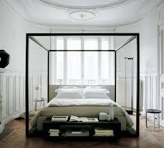 White Metal Kingsize Bed Frame Amazing Canopy Bed Frame Unique King Size On Metal Throughout