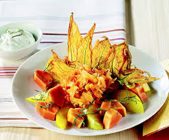 fiori di zucca in forno ricetta fiori di zucca croccanti con frutta la cucina italiana