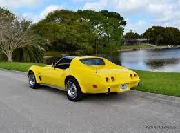 1976 corvette yellow 1976 chevrolet corvette stingray 63 248 yellow coupe 350