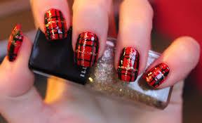 samantha u0027s tartan nail art tutorialillamasqua blog illamasqua blog