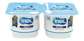 in ex magere yoghurt natuur portieverpakking inex