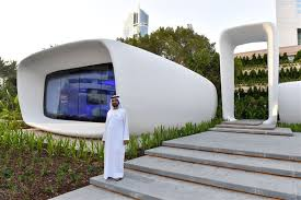 Emirates Help Desk Dubai Dubai Debuts The World U0027s First Fully 3d Printed Building
