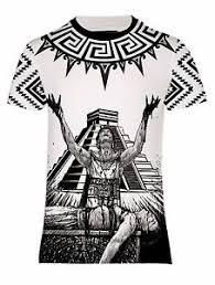 mexico aztec tonatiuh sun god sacrifice t shirt us uk size