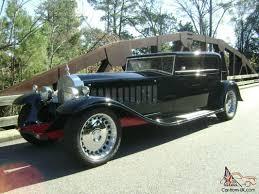 bugatti classic royale kellner coupe replica street rod classic tribute
