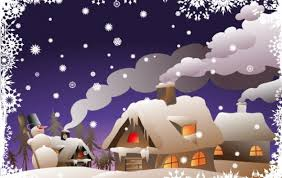 winter christmas vector illustration vector free download