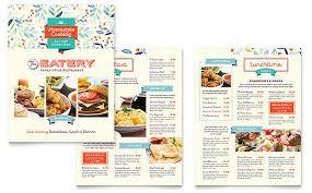 sample menu template free restaurant menu templates sample