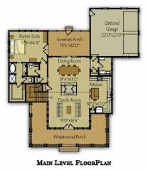 house plan rear garage house interior