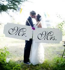 mr and mrs wedding signs wedding stencils mr mrs wedding signs create your own wedding