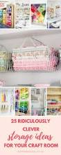best 10 small craft rooms ideas on pinterest small sewing space 17 fabulous creative storage solutions for your studio