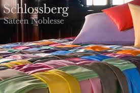 The Bay Duvets Schlossberg Noblesse Solid Color Bed Linens Plumeria Bay
