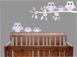amazon com purple owl wall decals owl stickers owl nursery amazon com purple owl wall decals owl stickers owl nursery wall decor purple and grey owl wall decals baby