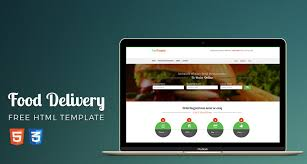 food restaurant ordering shop website template html free html5