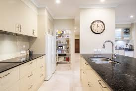 contemporary modern kitchen design brisbane with vanilla noir