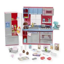 Pretend Kitchen Furniture Journey Girls Gourmet Kitchen Set Toys
