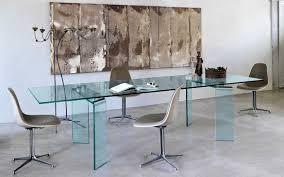 tavoli design cristallo il tavolo in vetro firmato bartoli design fiam italia