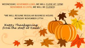thanksgiving hours emed primary care walk in clinic jacksonville