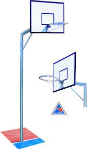 basketball hoop system heavy duty sportclub northland