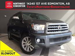 toyota us1 certified 2014 toyota sequoia from toyota northwest edmonton in