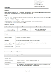 Latest Resume Format For Freshers Engineers Best Resume Format For Freshers Engineers It Cover Letter Of